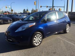Used 2017 Nissan Leaf S for sale in Burnaby, BC
