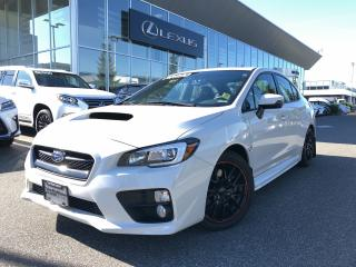 Used 2017 Subaru WRX 4Dr Sport-Tech Pkg 6sp Sport-Tech PKG / LOW KM / L for sale in North Vancouver, BC
