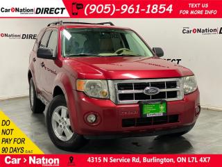 Used 2008 Ford Escape XLT 3.0L| AS-TRADED| OPEN SUNDAYS| for sale in Burlington, ON