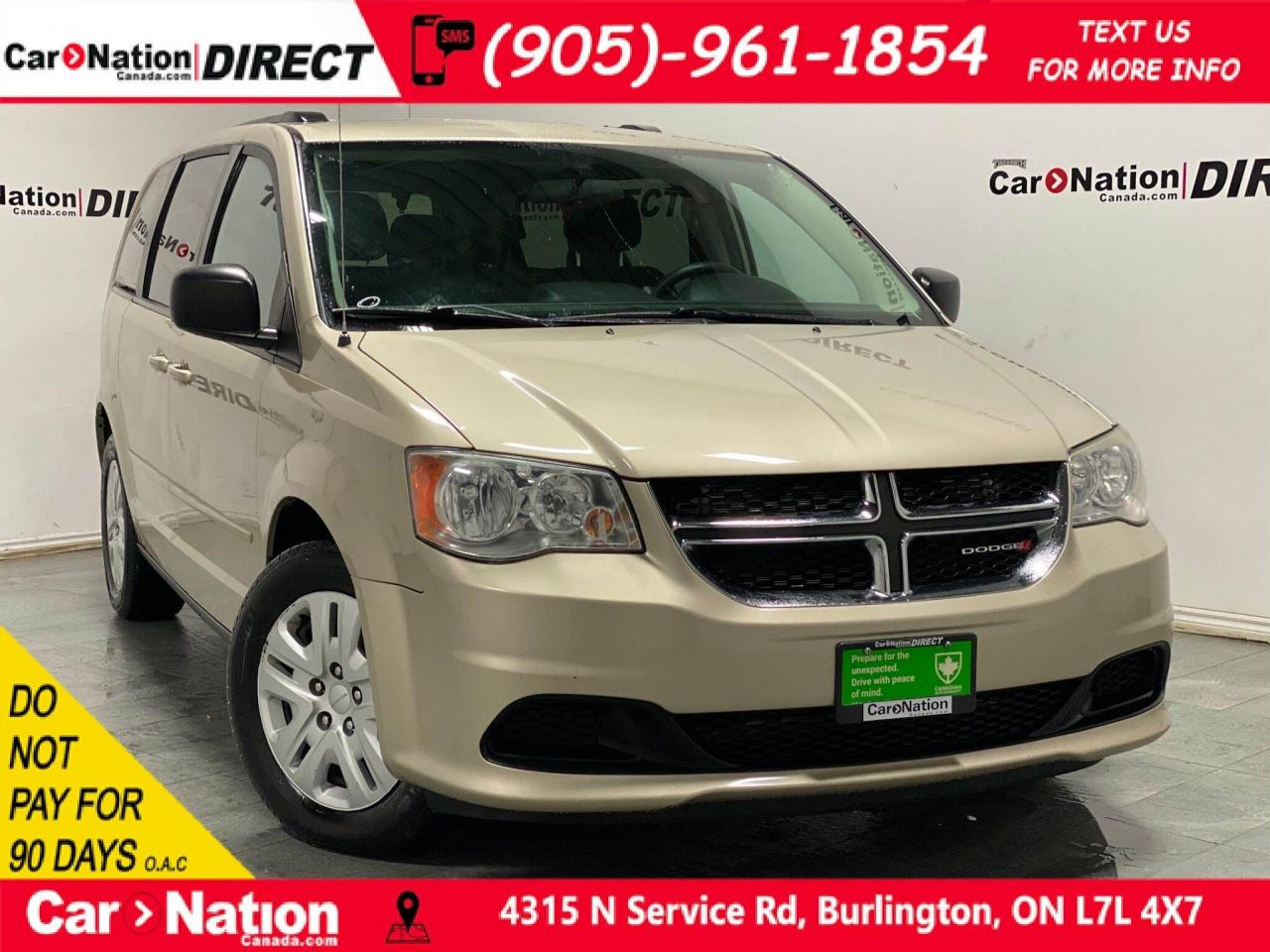 Used 2014 Dodge Grand Caravan SXT| LOCAL TRADE| DUAL CLIMATE
