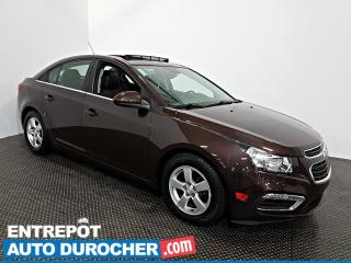 Used 2015 Chevrolet Cruze 2LT TOIT OUVRANT - Automatique - A/C - Cuir for sale in Laval, QC