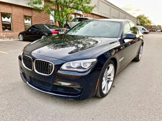 Used 2014 BMW 7 Series 4dr Sdn xDrive AWD for sale in North York, ON