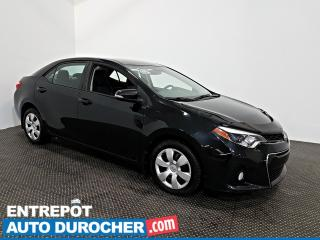 Used 2014 Toyota Corolla S Automatique - AIR CLIMATISÉ - Sièges Chauffants for sale in Laval, QC