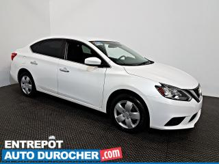Used 2017 Nissan Sentra S Automatique - AIR CLIMATISÉ - Groupe Électrique for sale in Laval, QC