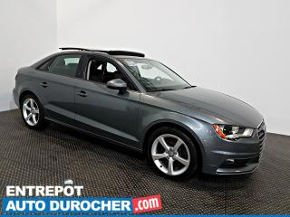 Used 2015 Audi A3 /S3 AWD TOIT OUVRANT - AIR CLIMATISÉ - Cuir for sale in Laval, QC