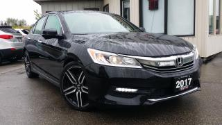 Used 2017 Honda Accord Sport Sedan CVT - BACK-UP/BLIND SPOT CAM! REMOTE START! CAR PLAY! for sale in Kitchener, ON