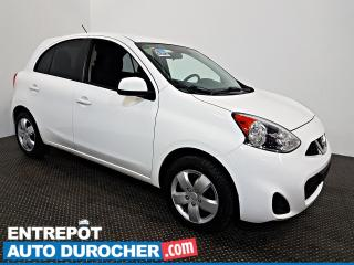 Used 2017 Nissan Micra SV AIR CLIMATISÉ - Groupe Électrique for sale in Laval, QC