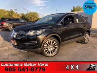 Used 2015 Lincoln MKC Reserve  RESERVE TECH NAV ROOF P/GATE for sale in St. Catharines, ON