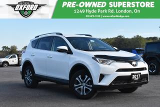 Used 2017 Toyota RAV4 LE - One Owner, Low Kms, Roof Rack for sale in London, ON