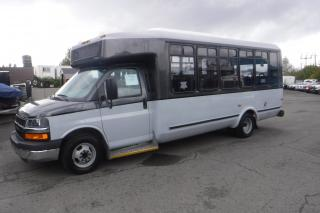 Used 2014 Chevrolet Express G4500 21 Passenger Bus for sale in Burnaby, BC