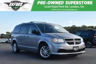Used 2015 Dodge Grand Caravan SE/SXT - Very Clean Inside and Out, Roof Rack for sale in London, ON