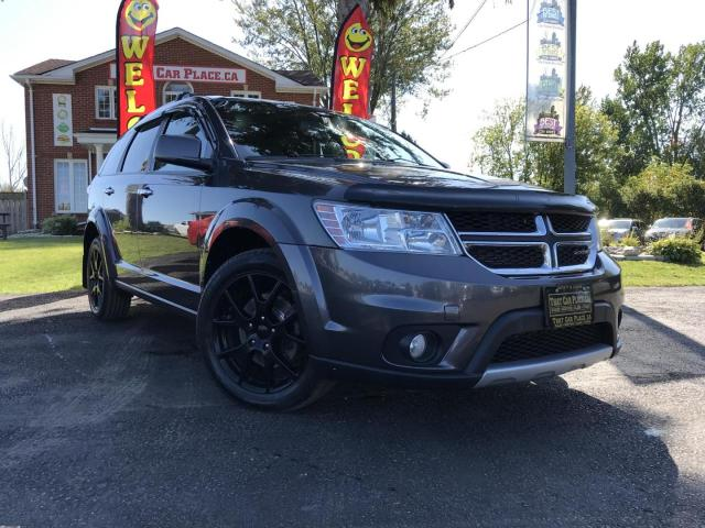 2016 Dodge Journey R/T AWD Black Alloys-AWD-Backup Camera-Leather-Pwt Seat-Heated Wheel-Heathed Seats-Rear Climate Control