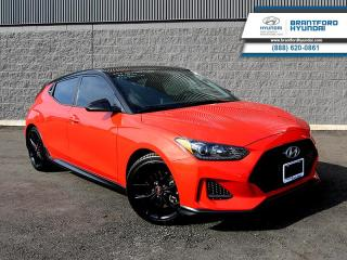 Used 2019 Hyundai Veloster TURBO | TECH PKG | MANUAL | NAVIGATION | HEADS UP DISPLAY for sale in Brantford, ON