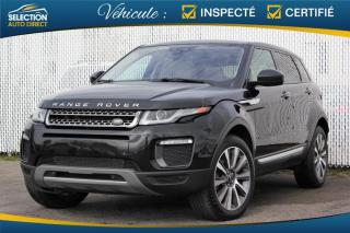 Used 2016 Land Rover Evoque HSE for sale in Ste-Rose, QC