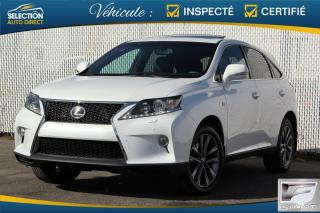 Used 2013 Lexus RX 350 F Sport  AWD for sale in Ste-Rose, QC