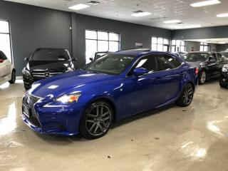 Used 2015 Lexus IS 250 F-SPORT*LEVEL 3*NAVIGATION*BACK-UP CAMERA*MARK LEV for sale in North York, ON