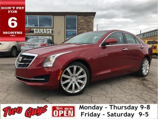Used 2015 Cadillac ATS 2.0L Turbo Luxury | AWD | Leather | Nav | Sunroof for sale in St Catharines, ON