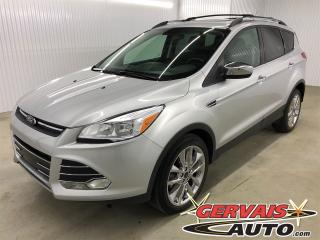 Used 2016 Ford Escape SE Chrome 2.0 AWD GPS Toit Panoramique Cuir/Tissus for sale in Trois-Rivières, QC
