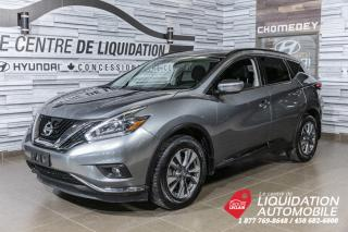 Used 2018 Nissan Murano SV  AWD TOIT GPS CAMERA for sale in Laval, QC