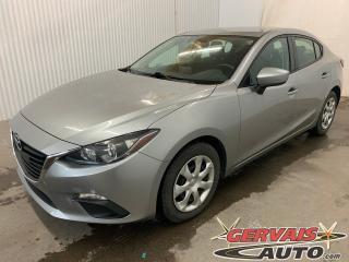 Used 2016 Mazda MAZDA3 GX A/C CAMÉRA DE RECUL BLUETOOTH for sale in Trois-Rivières, QC