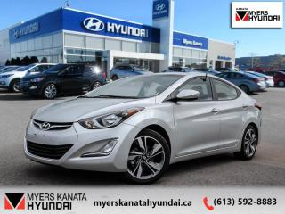 Used 2016 Hyundai Elantra GLS  - $98 B/W for sale in Kanata, ON