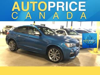 Used 2017 BMW X4 M40i NAVIGATION|PANOROOF|LEATHER for sale in Mississauga, ON