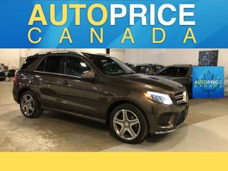 Used 2016 Mercedes-Benz GLE AMG WHEELS|SPRT PKG||NAVI|PANOROOF|LEATHER for sale in Mississauga, ON
