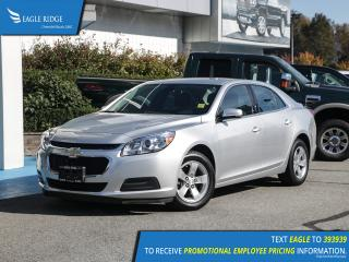 Used 2016 Chevrolet Malibu Limited LT Satellite Radio, A/C, CD Player for sale in Coquitlam, BC