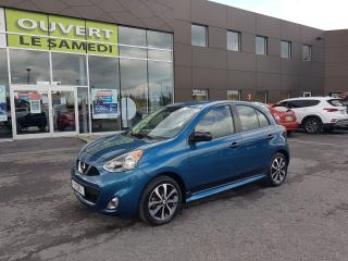 Used 2015 Nissan Micra SR, MAGS, CAMERA, 39927 KM, BLUETOOTH for sale in Chambly, QC