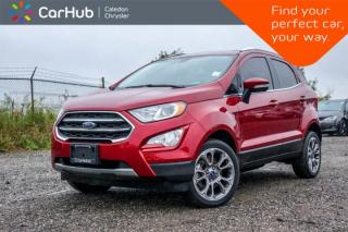 Used 2018 Ford EcoSport Titanium AWD|Navi|Pano Sunroof|Backup Cam|Blind Spot|Bluetooth|R-Start|17
