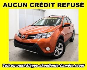 Used 2015 Toyota RAV4 XLE AWD SIÈGES CHAUFFANTS CAM RECUL *TOIT OUVRANT* for sale in St-Jérôme, QC