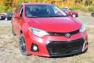 Used 2014 Toyota Corolla Berline 4 portes CVT S for sale in Shawinigan, QC