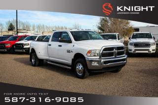 New 2017 RAM 3500 SLT - Remote Start, Touchscreen for sale in Medicine Hat, AB