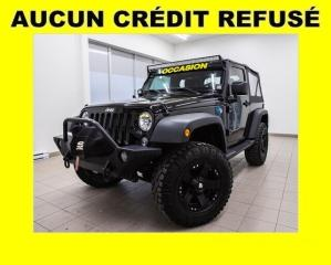 Used 2017 Jeep Wrangler SPORT 4X4 BLUETOOTH *BAS KILOMÉTRAGE* for sale in St-Jérôme, QC