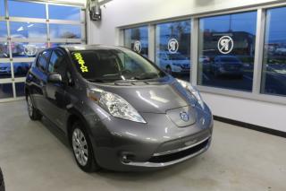 Used 2016 Nissan Leaf S CAMÉRA SIÈGES CHAUFFANT MAIN LIBRE for sale in Lévis, QC