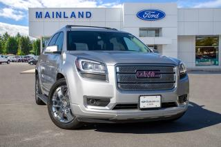 Used 2015 GMC Acadia Denali ONE OWNER, ACCIDENT FREE, BC LOCAL for sale in Surrey, BC
