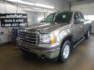 Used 2013 GMC Sierra 1500 4WD Ext Cab 143.5  SLE for sale in St-Raymond, QC