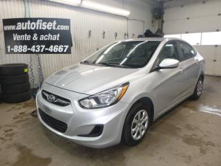 Used 2012 Hyundai Accent 4dr Sdn Auto GL for sale in St-Raymond, QC