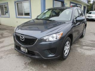 Used 2013 Mazda CX-5 ALL-WHEEL DRIVE SPORT EDITION 5 PASSENGER 2.0L - DOHC.. SKYACTIV TECHNOLOGY.. SPORT-MODE.. CD/AUX/USB INPUT.. KEYLESS START & ENTRY.. for sale in Bradford, ON
