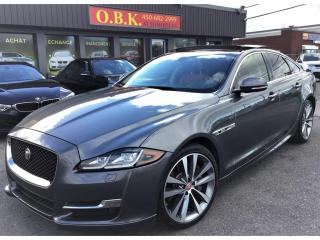 Used 2016 Jaguar XJ R-Sport-AWD-NAVIGATION-CAM RECUL-TOIT OUVRANT for sale in Laval, QC