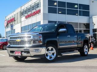 Used 2014 Chevrolet Silverado 1500 2LZ Double Cab 4WD for sale in London, ON