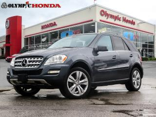 Used 2011 Mercedes-Benz ML 350 BLUETEC for sale in Guelph, ON