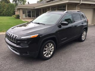Used 2014 Jeep Cherokee Limited for sale in Oakville, ON