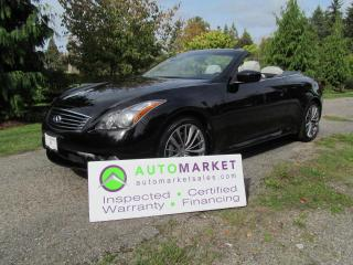 Used 2012 Infiniti G37 G37 SPORT NAVI, INSP BCAA MBSHP WARRANTY FINANCE for sale in Surrey, BC