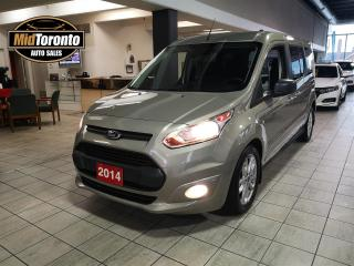 Used 2014 Ford Transit Connect Wagon XLT | ONE OWNER | NAVIGATION | 7 PASSENGER for sale in North York, ON