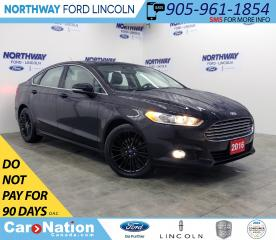 Used 2016 Ford Fusion SE | NAV | HTD LEATHER | BACK UP CAM | SUNROOF | for sale in Brantford, ON