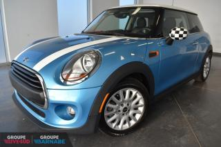 Used 2016 MINI Cooper PREMIUM+TOIT+CUIR+BAS KM!!! for sale in St-Jean-Sur-Richelieu, QC