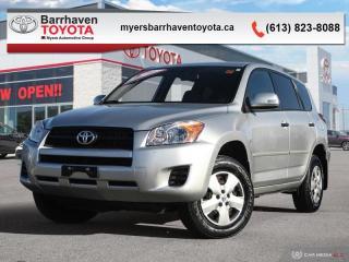 Used 2010 Toyota RAV4 BASE  -  Power Windows -  Power Doors - $127 B/W for sale in Ottawa, ON