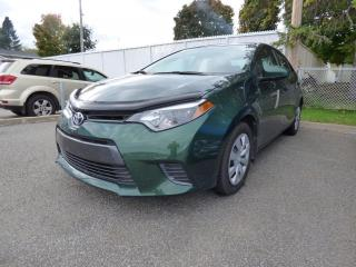 Used 2015 Toyota Corolla LE berline 4 portes AUTOMATIQUE for sale in Trois-Rivières, QC