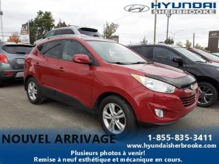 Used 2011 Hyundai Tucson GLS+DEMARREUR+BANCS CHAUFF+BLUETOOTH for sale in Sherbrooke, QC